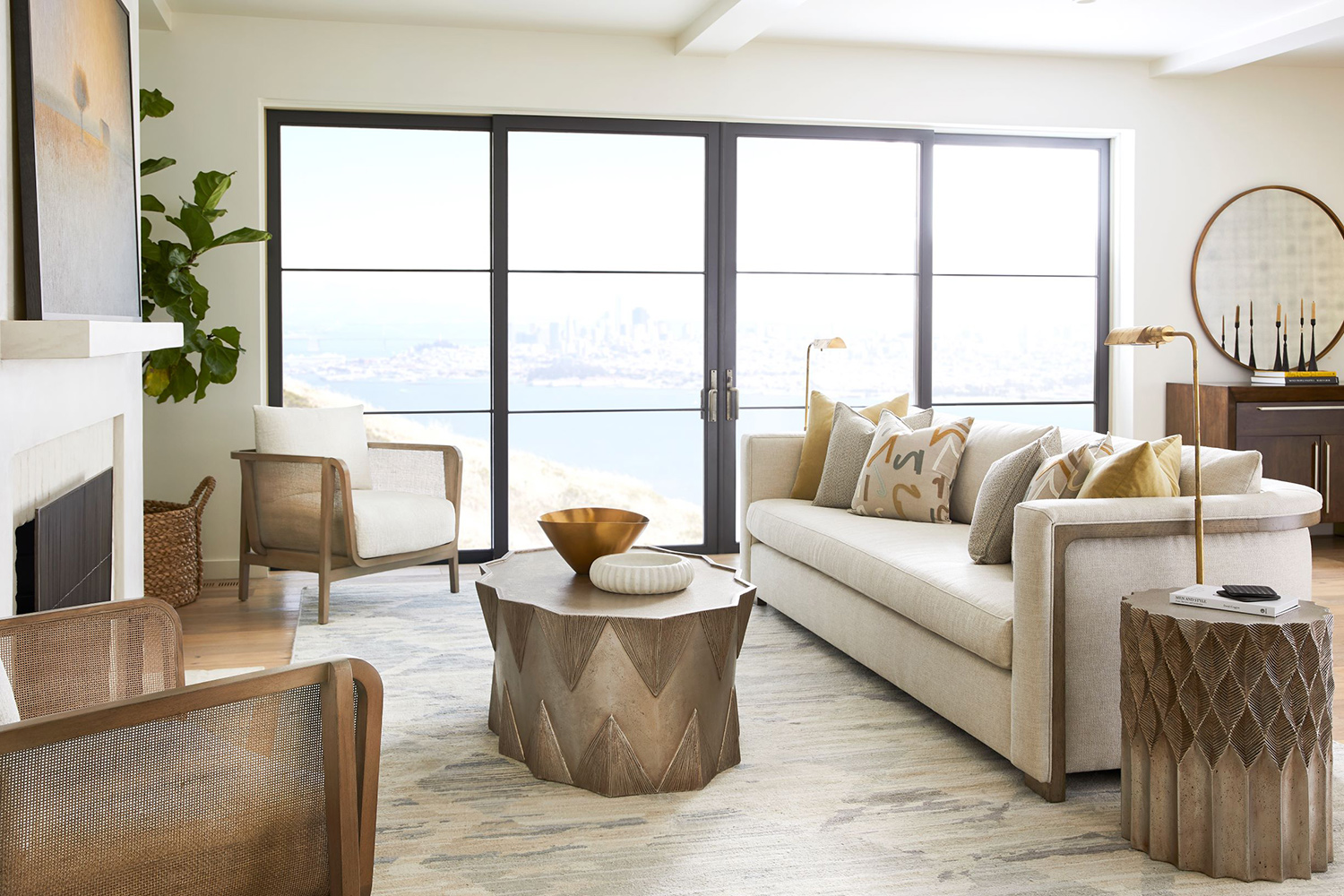 Beautiful living room by Vanguard Furniture